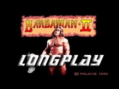 Barbarian 2: The Dungeon of Drax (Commodore Amiga) Longplay