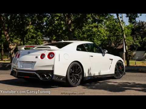 2017 Nissan GTR MY17 - Start Up, Fly By and Acceleration!