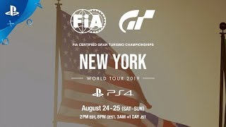 Gran Turismo Sport - World Tour NYC Preview   PS4