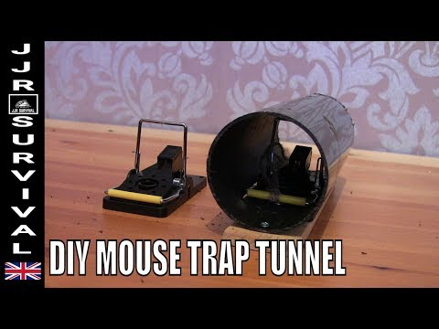 HOW TO MAKE  A MOUSE TRAP TUNNEL