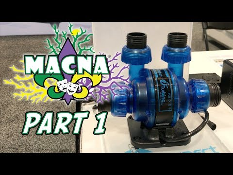 The Reef Builders Tour of MACNA 2017 in New Orleans: Part 1