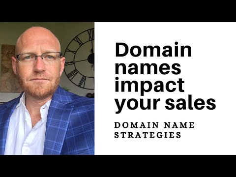 Do domain names impact customer acquisition?