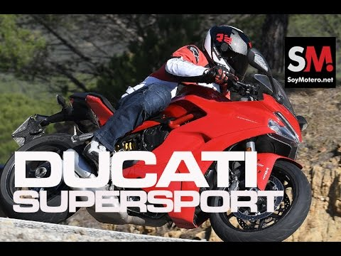 Ducati SuperSport/S 2017: Prueba Moto Sport-Turismo [FULLHD]