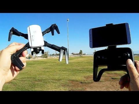 1808 Falcon Good Cheap Beginners FPV Camera Drone Flight Test Review - UC90A4JdsSoFm1Okfu0DHTuQ