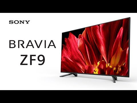 First Look at Sony's ZF9 – 4K HDR MASTER Series TV