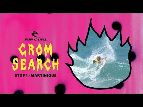 2018 European Rip Curl Grom Search - Stop #1 Martinique