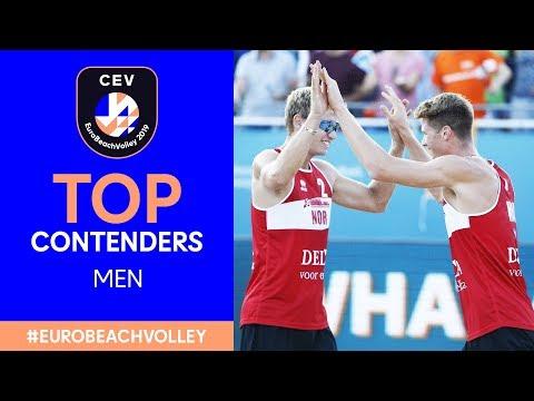 #EuroBeachVolley 2019 | Top contenders, men