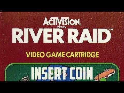 River Raid (1982) - Atari 2600 - Análisis Comentado