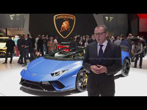 Huracán Performante Spyder executive team interviews