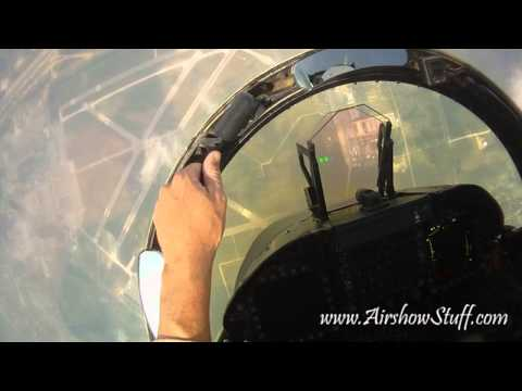 RideAlong! US Navy F/A-18C Hornet East Demo Team (Helmet Cam) - Thunder Over Michigan 2010 - UCj_YRYIKoU74x60sSGPw4Ow