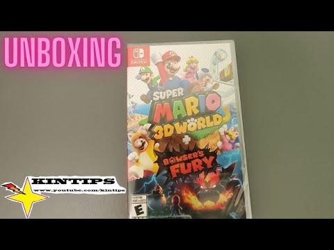 Kintips Unboxing Super Mario 3D World Bowser s Fury Nintendo Switch