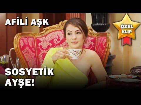 Yelda, Ayşe'yi Sosyeteye Hazırlıyor! - Afili Aşk Özel Klip