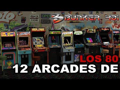 12 Arcades de los 80's   Retro   Tal día como hoy