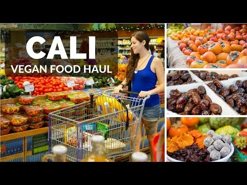 Hollywood Food Haul || Raw Vegan