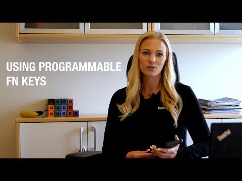 Handheld NAUTIZ X6: Using programmable Fn keys