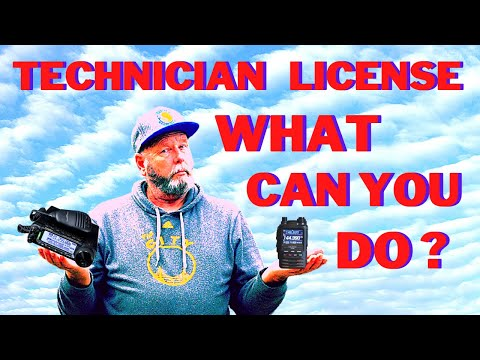 What can you do with your Armature Radio Technician license?