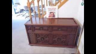 Magnavox Console Stereo Model 1P3704 - YouTube