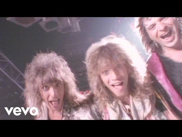 filmik bon jovi - you give love a bad name