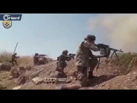 متداول | بصواريخ التاو والاشتباك المباشر المعارك مستمرة على جبهات الحويز وتل ملح شمال حماة