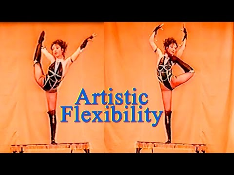 What A Girl!  Contortion And Flexibility Demonstration