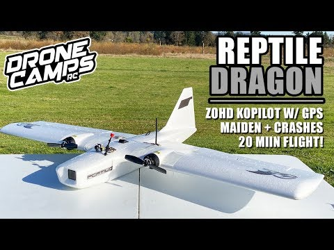 BEST RC PLANE for $122? - REPTILE DRAGON 1200mm - REVIEW, CRASHES, 20 MIN FLIGHTS - UCwojJxGQ0SNeVV09mKlnonA