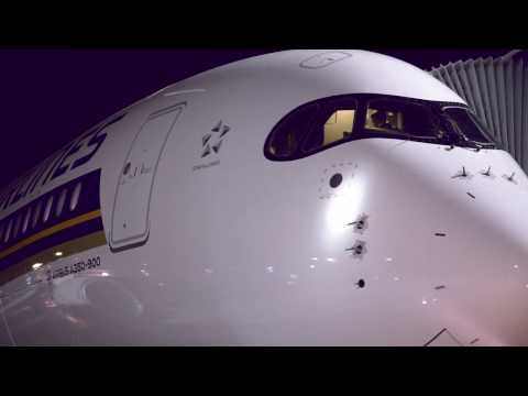 Inaugural Non Stop Flight from Singapore to Moscow | Singapore Airlines
