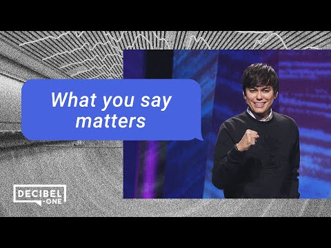 Joseph Prince - What you say matters