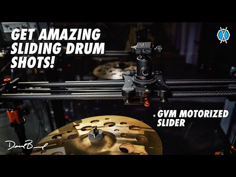 Here's how I'm getting these great sliding drum shots!