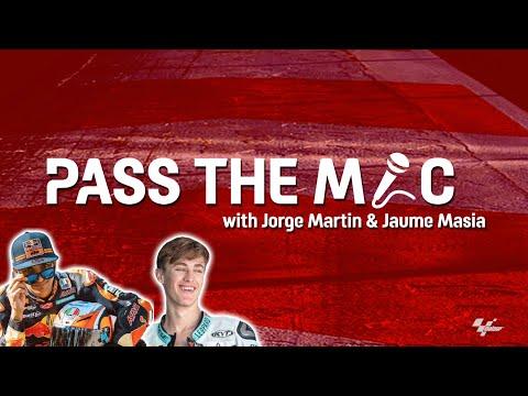 Pass the Mic: Jorge Martin & Jaume Masia