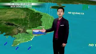 Thời tiết 6h ngày 16/07/2019: Tây Nguyên và Nam Bộ ngày nắng gián đoạn, chiều tối có mưa dông| VTC14