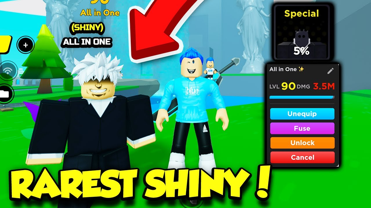 I Got SHINY ALL FOR ONE In Anime Fighters Simulator Update 6!! *INSANELY OP* (Roblox)