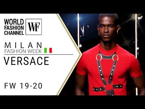 Versace |  Milan men's fashion show  Fall-winter  19-20