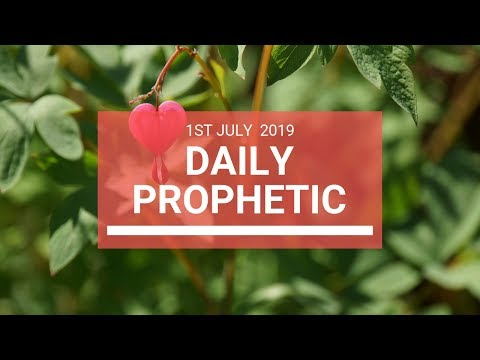 Daily Prophetic 1 July 2019 Word 7