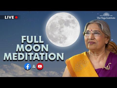 Full Moon Meditation - May 2021 | The Yoga Institute