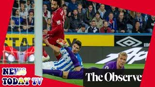 Mohamed Salah strike settles nervy Liverpool win over Huddersfield