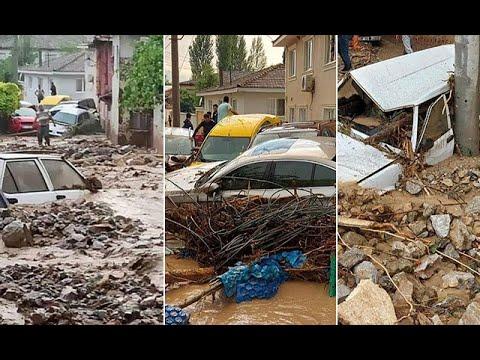 Bursa'da sel faciası! Can kaybı 2'ye yükseldi, kayıplar aranıyor