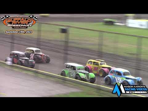 Buffalo River Speedway INEX Legends A-Main (9/19/21) - dirt track racing video image