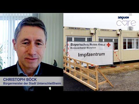 Interview mit dem 1. Bürgermeister der Stadt Unterschleißheim | Referenzprojekt Impfzentrum | ALGECO
