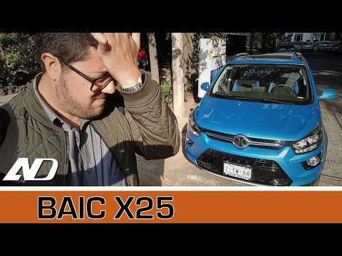 BAIC X25 - Me odiarán por este video pero no veo otro modo de hacerlo