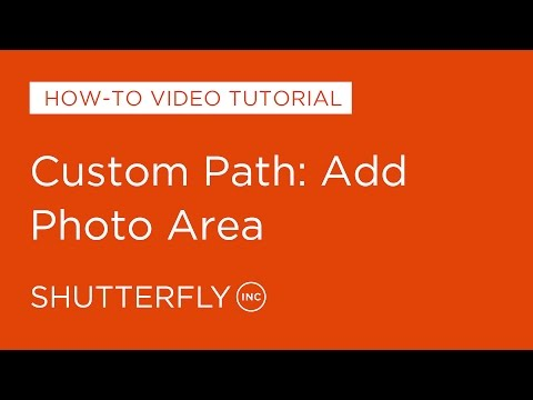 Custom Path: Add Photo Area