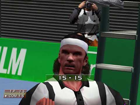 Virtua Tennis (Arcade Mode: Carlos Moyá) (Hitmaker, Strangelite) (Windows) [2002] [PC Longplay]