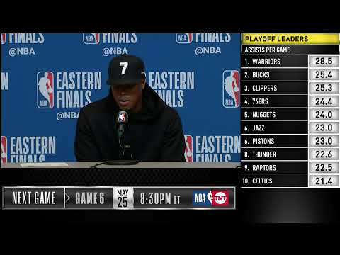 Kyle Lowry Press Conference | Eastern Conference Finals Game 5