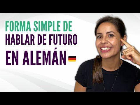 Forma simple de hablar de futuro en alemán / Alemán básico con Whitney