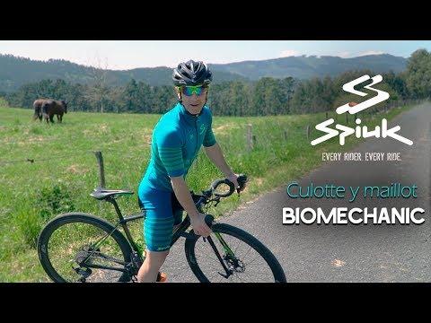 Tecnología y alto rendimiento con el culotte y maillot SPIUK Biomechanic