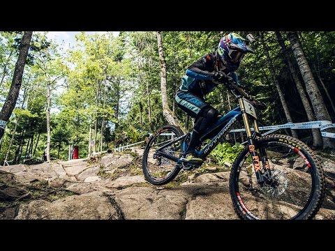Danny Hart's BLAZING MTB Winning Run at Mont-Sainte-Anne | UCI MTB World Cup 2016
