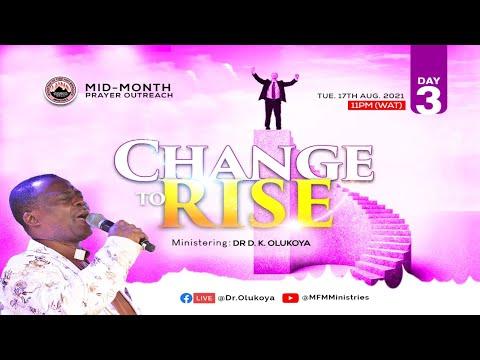 MID-MONTH PRAYER OUTREACH DAY 3 (17-08-2021) Dr D. K. Olukoya