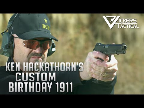 Ken Hackathorn's Custom Birthday 1911 - BCM's Made In America