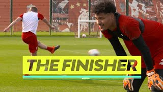 The Finisher | Liverpool's NEW four-way shooting challenge | Brilliant drill from the Academy
