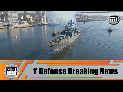 Russian Navy modernized Marshal Shaposhnikov destroyer will start sea trials in Sea of Japan Russia