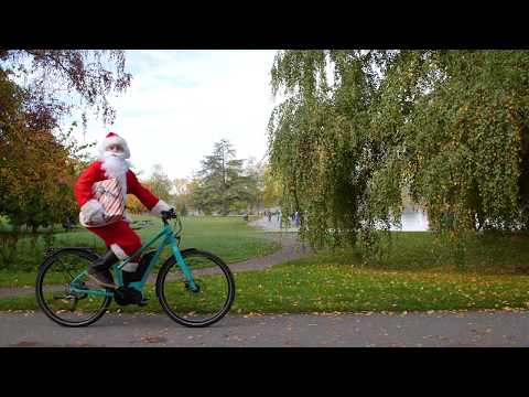 Even Santa Chooses IZIP eBikes